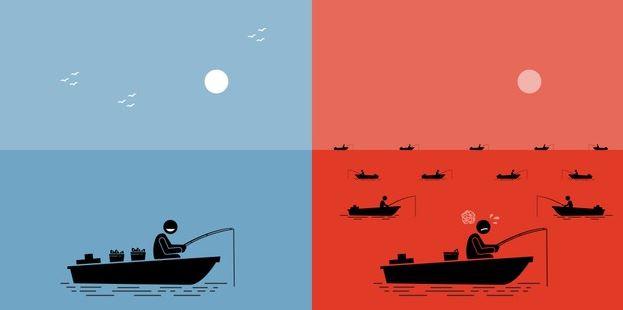 red ocan vs blue ocean